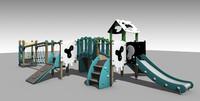 playground 3d c4d