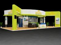 maya exhibition stall