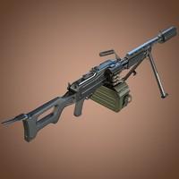 Kalashnikov 'Barsuk' AEK-999 Machine Gun