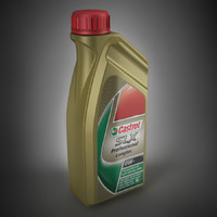 3ds max castrol motor oil