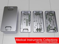 medical instruments collections obj