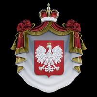 coat arms 3d max
