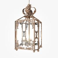 classic lantern 3d model