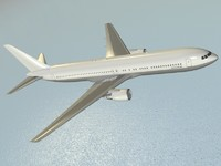 boeing 767-300 er airliner 3ds