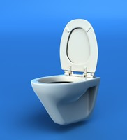 water closet 3d model