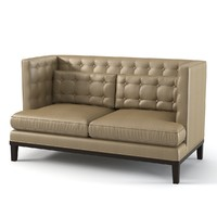 Brooklea Loveseat Kensington Collection by Armen Living