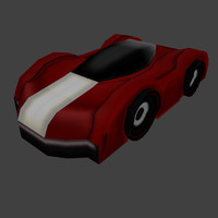 sci fi race car 3ds