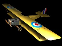 curtiss aircraft 3d max
