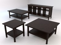 ikea hemnes livingroom tables