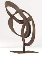 Abstract Bronze Sculpture