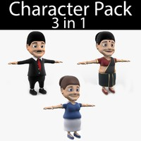 3d character pack 07