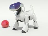 3d sony aibo model