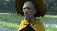 3d model zbrush rincewind