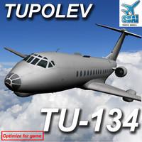 tupolev 134 short max