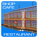 3d shop cafe restaurant buildings