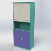 3d cabinet furniture office