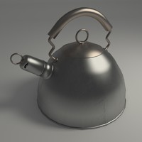 kettle modeled blender 3ds