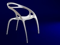3d chair ross lovegrove model