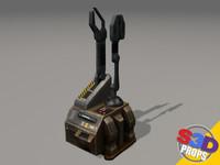 maya sci-fi repair unit