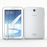 3d samsung galaxy note 8 model