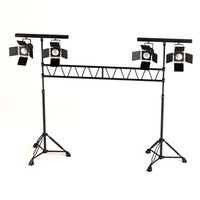 3d model stage light