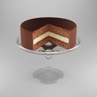model of cake