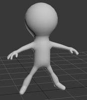 3d model mini cartoon