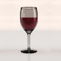 3ds max wine glass