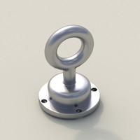 free mount ring 3d model