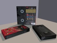 vhs tape 3d ma