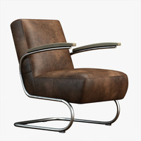 3d chair lobby model