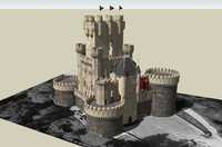 butron castle 3d model
