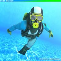 Diver - Dry Suit