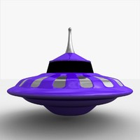 ufo spacecraft 3d model