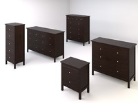 ikea hemnes bedroom drawers chests set