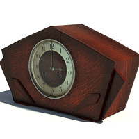 3d mantle clock