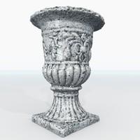 3d model vase gardens