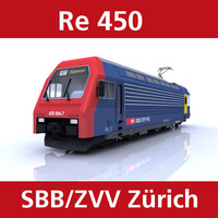 3ds max re450 train switzerland