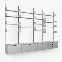 max dieter shelving unit