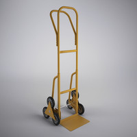 stair climbing sack truck 3d 3ds