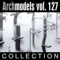 3d model archmodels vol 127