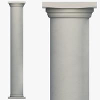 column parts 3ds