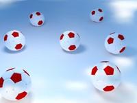 futbol topu 3d model