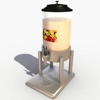 1 dispenser 3d model