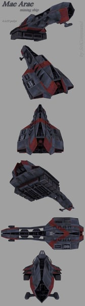 3d model asteroid base space - Sci Fi Mega Pack... by SolCommand