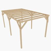 maya wood carport