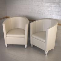 john bronco armchair topdeq 3d 3ds