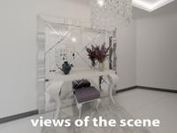 3d entry dresser model