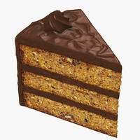 Cake Slice - Walnut