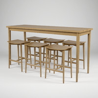 3d jonas oak hb-505 table model